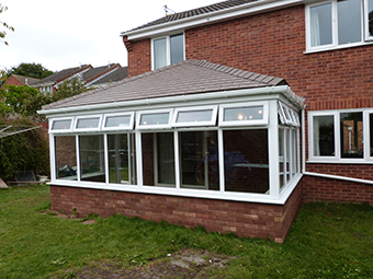 Solid Roof Conservatory Sidmouth