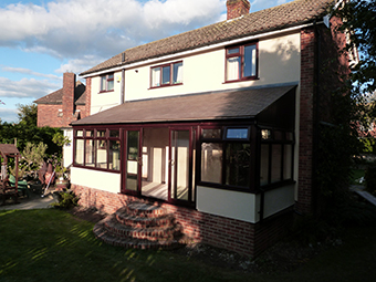 Chard Solid Roof Conservatory