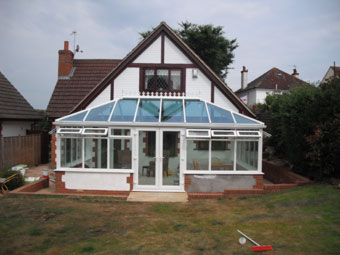 conservatory installation budleigh