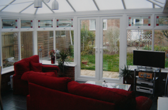 Feniton Conservatory Installation